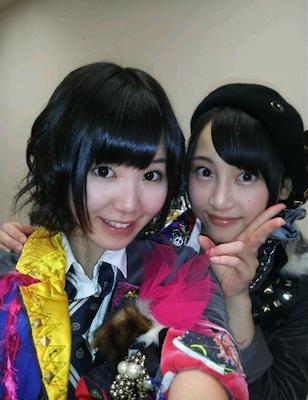 きんちゃん(金子栞)と玲奈ちゃん(松井玲奈)