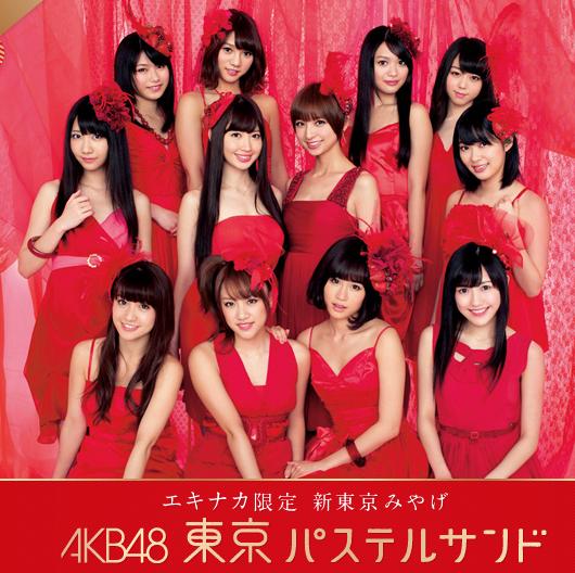 AKB48東京パステルサンド エキナカ限定 新東京みやげ