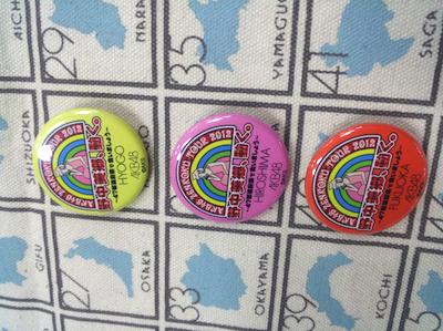 AKB48全国ツアー2012「野中美郷、動く。~47都道府県で会いましょう~」缶バッジ