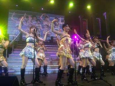 AKB48全国ツアーin山梨チームKとがちゃんレポート56 フライングゲット3