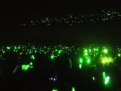 AKB48全国ツアーin山梨チームKとがちゃんレポート65 緑一色のアンコールはチームKコール!