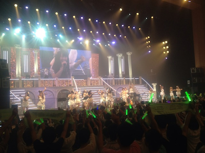 AKB48全国ツアーin山梨チームKとがちゃんレポート98 全ての演目が終了しました!3