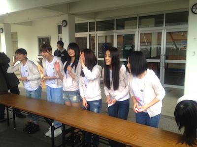 被災地支援活動 2012年04月22日 メンバーが、逆にパワーを頂いているように思えました。