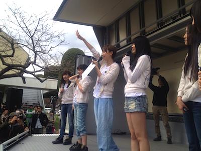 被災地支援活動 2012年04月22日 篠田とじゃんけん大会を行いました。