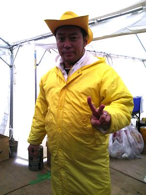 加藤玲奈さんのぐぐたす 戸賀崎さんです!(^O^)!   記念に撮らせていただきました(笑)