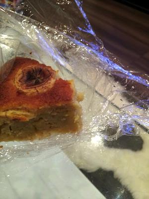 りのちゃんのバナナケーキおいしす\(^^)/