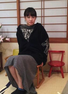 前田さんはイスに座れなくてショックだそうです。。笑