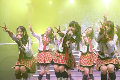 HKT48 AKB48の全国ツアー参加1