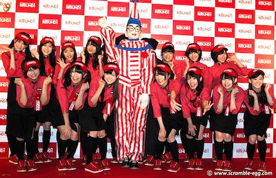 NMB48 ラウンドワンスタジアム千日前 オープニング記念セレモニーに参加2