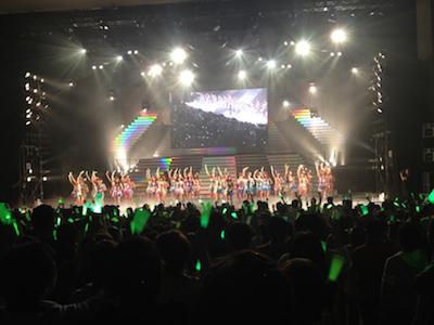 SDN48 卒業コンサート「NEXT ENCORE」戸賀崎智信さんの google+より55