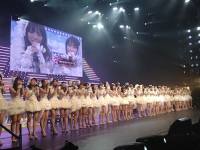SDN48 卒業コンサート「NEXT ENCORE」戸賀崎智信さんの google+より72