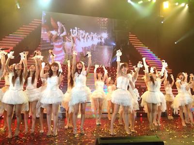 SDN48 卒業コンサート「NEXT ENCORE」戸賀崎智信さんの google+より78