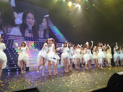 SDN48 卒業コンサート「NEXT ENCORE」戸賀崎智信さんの google+より80