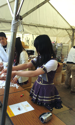 BBQ松村のハヤシライス無料試食祭り@日本ガイシホール6