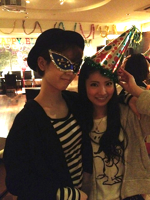 篠田麻里子blog やすす生誕祭12