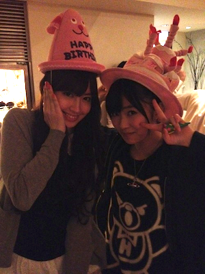 篠田麻里子blog やすす生誕祭13