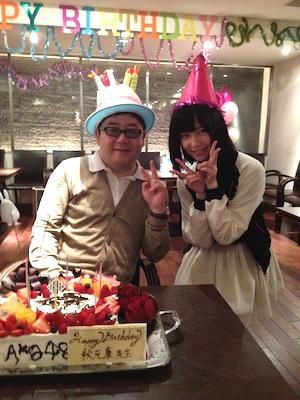 篠田麻里子blog やすす生誕祭16