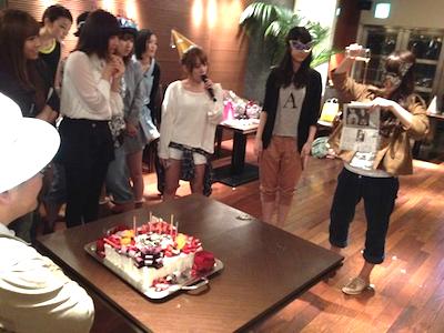 篠田麻里子blog やすす生誕祭18