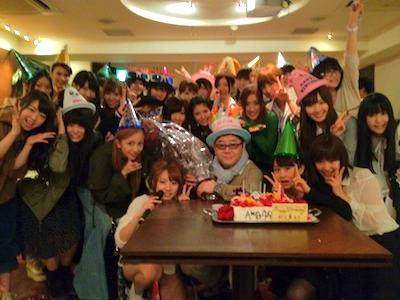 集合写真 篠田麻里子blog やすす生誕祭