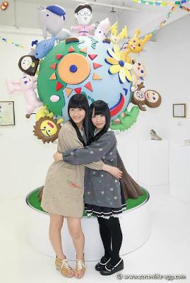 4枚目はみなぞう(HKT48今田美奈さん)とかおたん(SKE48松村香織さん)です。