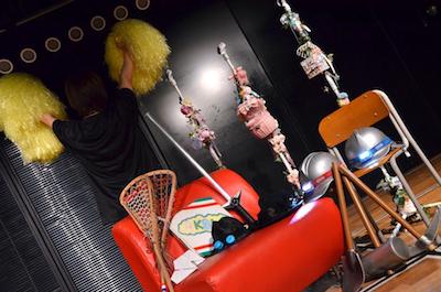 サルオバサンの舞台裏レポート2 AKB48劇場 小道具たち