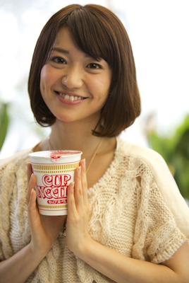 カップヌードルのCM「REAL」シリーズ第2弾、4人目は大島優子