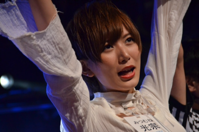 1回戦・光宗薫VS梅田綾乃は、ミッツの勝ち(^_^)b