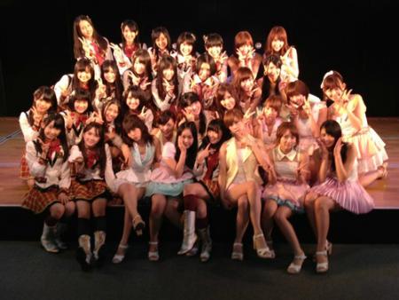 ゲストでHKT48のみんなも来てくれました!!