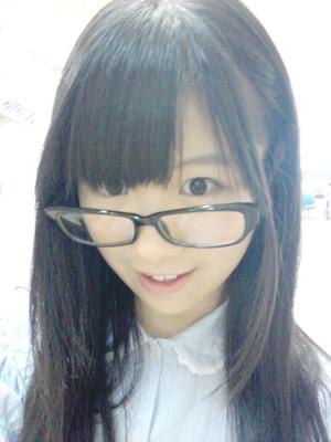 メガネ似合ってますか?