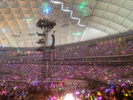 この景色を4万8千人のファンの皆様と共有出来るなんて、最高っ