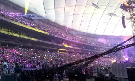 東京ドームコンサート二日目始まりました。