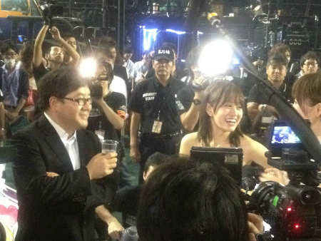 前田も最高の笑顔ですね!