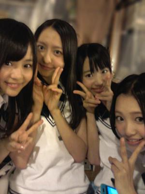 AKB48シアターでの 出張公演終わりましたー♪