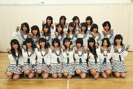 HKT48第二期生のお披露目がありました